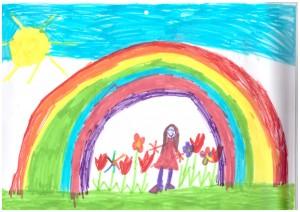 Regenbogen-Michelle-8Jahre